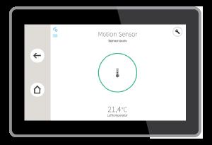 Sicherheit im Eigenheim: Motion Sensor
