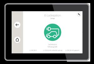 E-Ladestation Detailansicht