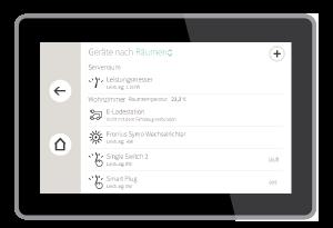 E-Ladestation in der Geräteliste